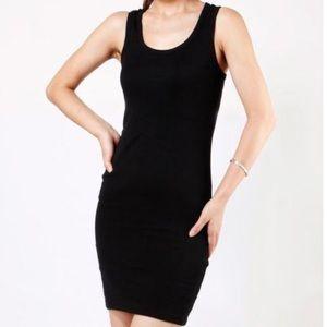 Ralph Lauren PXL Black Tank Slip Dress